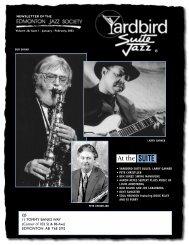 Pete Christlieb - Yardbird Suite