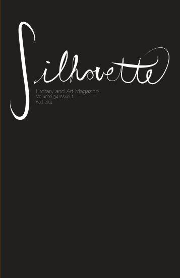 Fall 2011 - The Silhouette Literary and Art Magazine - emcvt