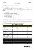 AGFA HEALTHCARE DICOM Conformance Statement IMPAX Small ... - Page 3
