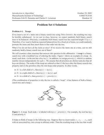 Problem Set 10