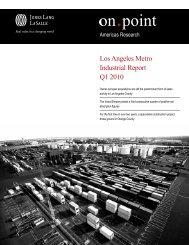 Los Angeles Metro Industrial Report Q1 2010