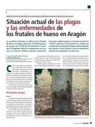 Situación actual de las plagas y enfermedades de los frutales de ...