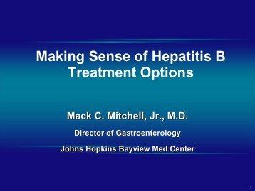 Slide Presentation - Hepatitis B Foundation