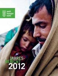 aktuellen Jahresbericht - Welthungerhilfe