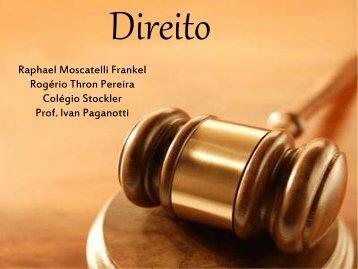 (pdf) dos alunos sobre a carreira de Direito