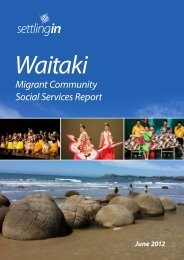 Settling In Waitaki - Human Rights Commission