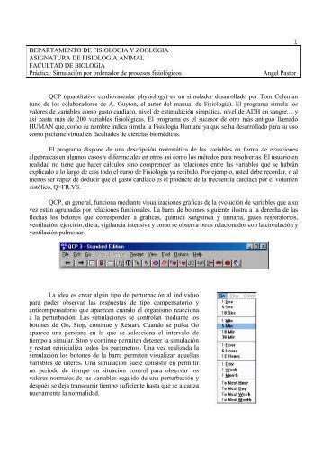 DEPARTAMENTO DE FISIOLOGIA Y BIOLOGIA ANIMAL - BioScripts