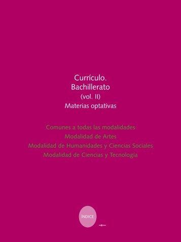 currículo. Bachillerato - Gobierno de Navarra
