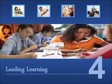 Leading Learning 4 Conference Presentation