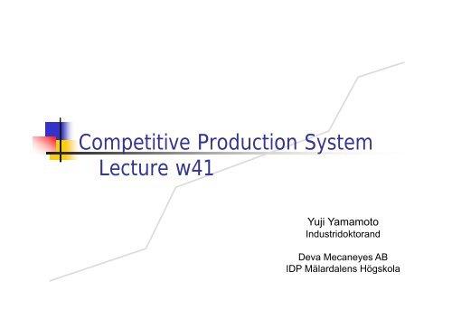 Yujis presentation - Zoomin - Mälardalens högskola