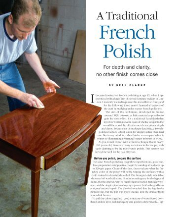 A Traditional French Polish