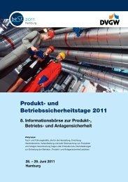 Produkt- und Betriebssicherheitstage 2011 - TÜV NORD Gruppe
