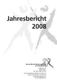 Jahresbericht 2008 - Sans Papiers
