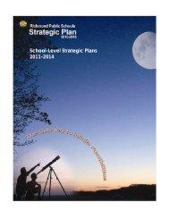 School-Level Strategic Plans 2011-2014 - Richmond Public Schools