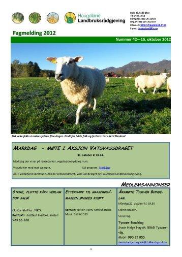 Trykk her - Haugaland landbruksrådgjeving
