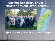 Nationella Vindkraftkonferensen - Nätverket för vindbruk