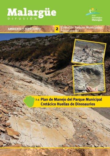 Plan de Manejo del Parque Municipal Cretácico Huellas de ...