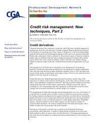 Credit risk management: New techniques, Part 2 - PD Net