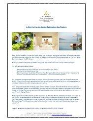 A Visit to the Six Senses Destination Spa Phuket… - Kurtz-Ahlers ...