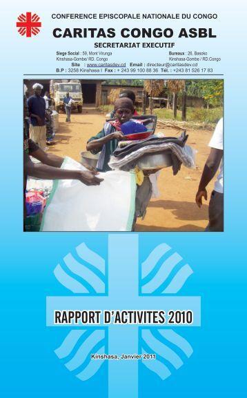 RAPPORT D'ACTIVITES 2010 - caritasdev.cd