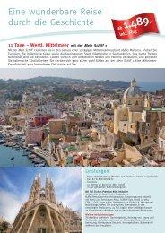 Eine wunderbare Reise durch die Geschichte - Die Perfekte Kreuzfahrt