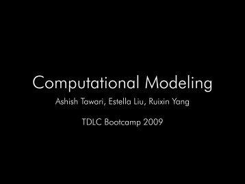 Computational Modeling (Project 1: ICA)
