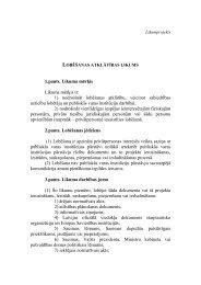 lobēšanas atklātības likums - KNAB