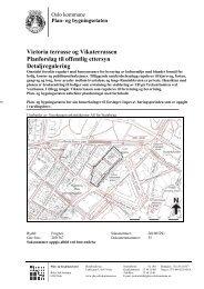 Victoria terrasse og Vikaterrassen Planforslag til offentlig ettersyn ...