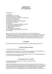 1/I 25. Erg. - 1 - Hauptsatzung der Stadt Kamp-Lintfort vom 17.09 ...