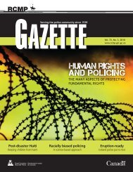 RCMP Gazette Human Rights and Policing - Alberta Hate Crimes ...