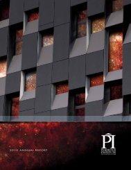 PI 2009-2010 Annual Report - Perimeter Institute
