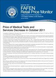 Retail Price Monitor - FAFEN