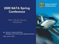 2009 NATA Spring Conference