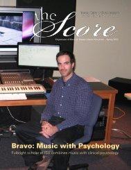 Bravo: Music with Psychology - Iowa State University Department of ...
