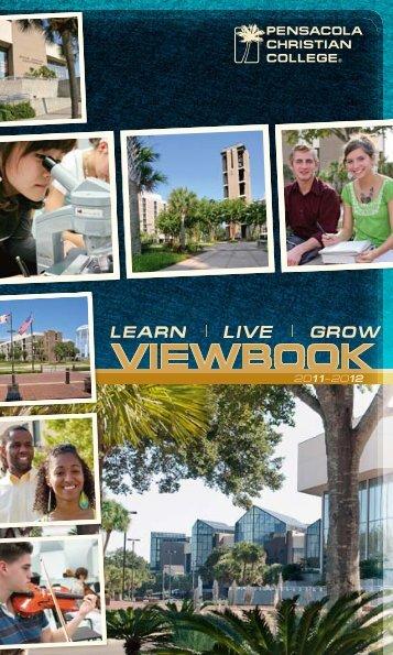 PCC Viewbook 2011-12 (low resolution) - Pensacola Christian ...