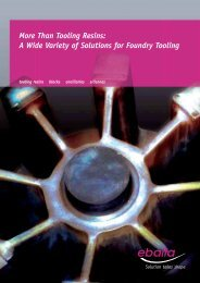 Download Foundry Tooling Brochure - Ebalta