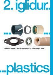 Weitere Produkte: Clips- & Rundtischlager, Halbzeuge & mehr... - Igus