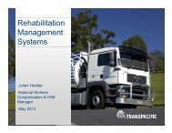 Rehabilitation Management Systems - Comcare