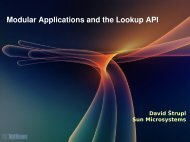 Modular Applications and the Lookup API