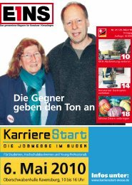 25. März `10 (PDF) - E1NS-Magazin