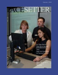 Summer 2004 #2.indd - University of Kansas Medical Center