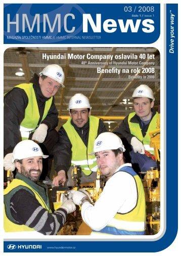 (ke stažení v pdf) číslo 1/Březen 2008 - HYUNDAI Motor ...