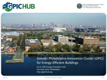 GPIC Activities & Accomplishments To Date - EEB Hub