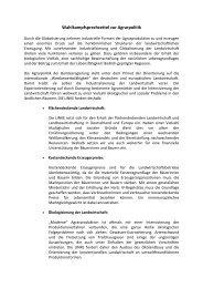 Sprechzettel Agrarpolitik - DIE LINKE. Katrin Werner