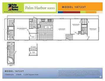 Floor Plan and Building Specs (269 KB) - Palm Harbor Homes