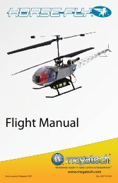 Horse-Fly Instruction Manual - High Definition Radio Control
