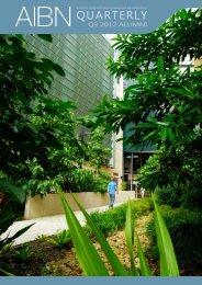 2012 Quarter 3 - Australian Institute for Bioengineering and ...