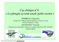 Cas clinique n°3 - Commission technique régionale Bretagne et ...