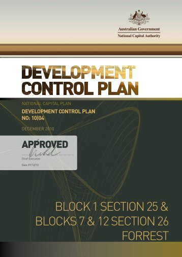 Block 1 Section 25 and Blocks 7 & 12 Section 26 - DCP No. 10/04 PDF