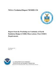 Workshop Report - National Climatic Data Center - NOAA